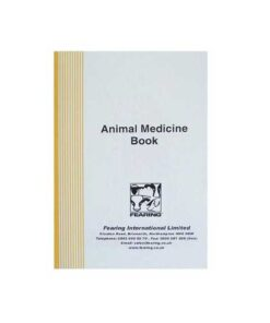 Animal Medicine Record Book - Image