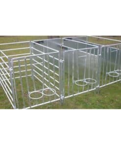 Bateman Calf Pen Front C/w Double Bucket Holder - Image