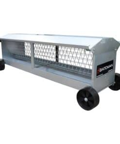 Bateman Heavy Duty Sheep Hayrack & Manger On Wheels - Image