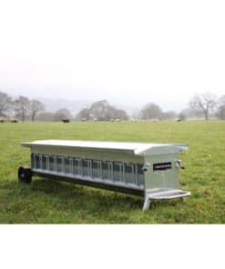 Bateman Heavy Duty Wheeled Lamb Creep Feeder - Image