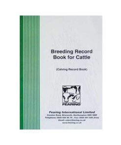 Breeding Record Book For Cattle - Image
