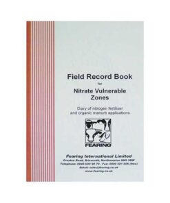 Field Record Book Nvz - Image