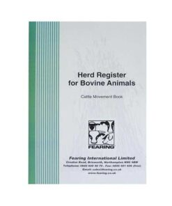 Herd Register Book For Cattle - Image