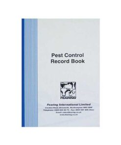 Pest Control Record Book - Image