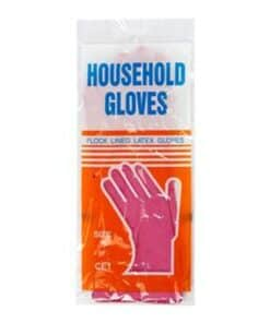 Pro Pink Household Gloves - Image