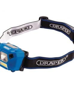 Draper 3W Rechargeable LED Headlamp - Image