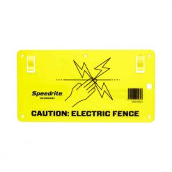 Speedrite Electric Fence Warning Sign - Image