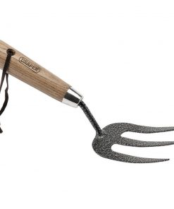 Draper Carbon Steel Heavy Duty Weeding Fork With Ash Handle - Image