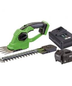 Draper D20 20V 2-in1 Grass & Hedge Trimmer With Battery & Fast Charger - Image