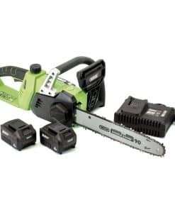 Draper D20 40V Chainsaw With 2 x Batteries & Fast Charger - Image