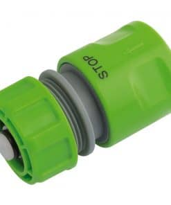 """Draper Garden Hose Connector With Water Stop Feature (1/2"""") - Image"""