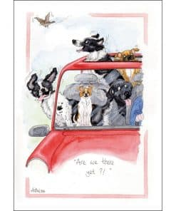 Alison's Animals Are We There Yet Card - Image
