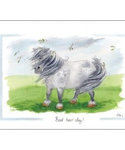 Alison's Animals Bad Hair Day Card - Image