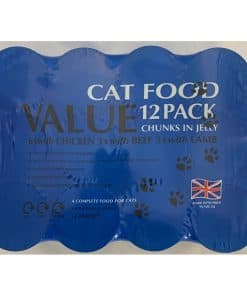 Cambrian Supreme Value Cat Food Mixed Jellies 12 cans - Image