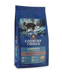 Cambrian Country Choice Cat Turkey & Rice 4kg - Image