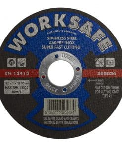 Cutting Disc Flat Stainless Steel 115 x 1.2 x 22mm - Image