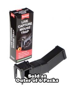 Live Catch Mouse Trap, pack of 6 - Image