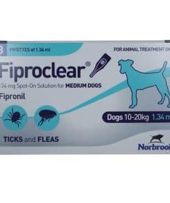 Norbrook Fiproclear Spot-On for Medium Dogs 10-20kg - Image