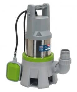 Sealey 417L/min High Flow Automatic Submersible Dirty Water Pump - Image