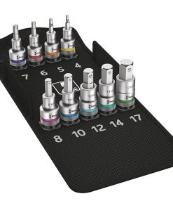 Wera Tools Zyklop Socket Set In-hex Hold Function 9pc - Image