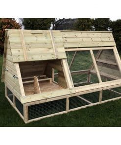 8' X 4' Deluxe Poultry Ark - Image