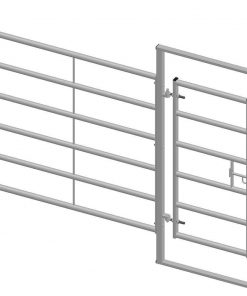 Cattle Hurdle With 655 Gate 2500x1750mm - Image