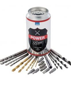 Draper 22 Piece Drill Bit Set Can   Special Edition - Power Brew - Image