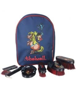 Hy Equestrian Thelwell Complete Grooming Kit Rucksack - Image