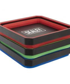 Sealey Parts Tray Collapsible Magnetic Set - Image