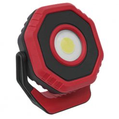 Sealey Rechargeable Pocket Floodlight with Magnet 360° 14W COB LED - Red - Image