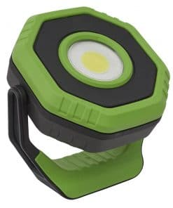 Sealey Rechargeable Pocket Floodlight with Magnet 360° 7W COB LED - Green - Image
